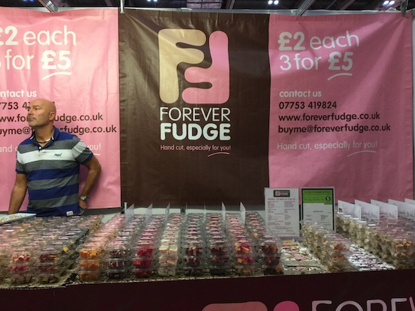 cake & bake show, london, excel, fudge