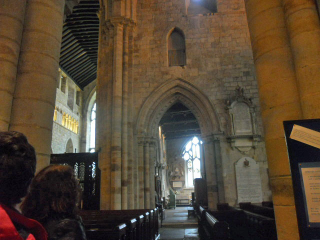 cartmel priory, st mary, st michael