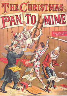 Christmas Pantomime 1890 Poster courtesy of Wikimedia