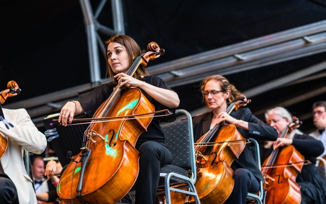Concerts in the Park, Sutton Coldfeld, City of Birmingham Symphony Orchestra