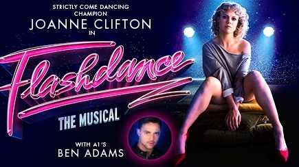Flashdance, Joanne Clifton, Birmingham, tour