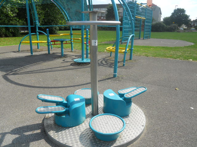 rock terrace recreation ground, exercise machine
