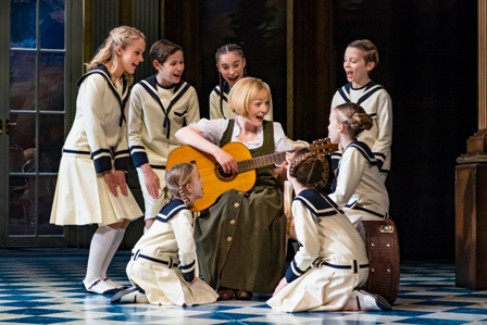 The Sound of Music, Review, Birmingham Hippodrome, Lucy O' Byrne, The Voice, Andrew Lancel, Coronation Street