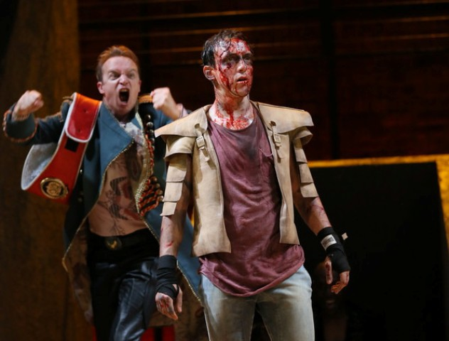 The Two Noble Kinsmen, RSC, Swan Theatre, director Blanche McIntyre