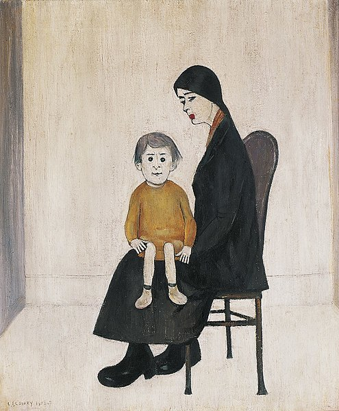 : LS Lowry, Mrs Lowry & Son, cinema