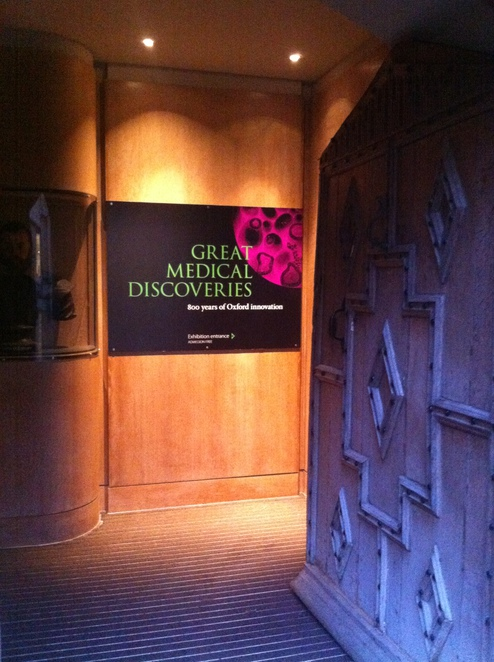 bodleian, library, great, medical, discoveries, exhibition
