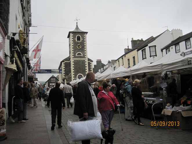 Clock Tower in Keswick Town Centre