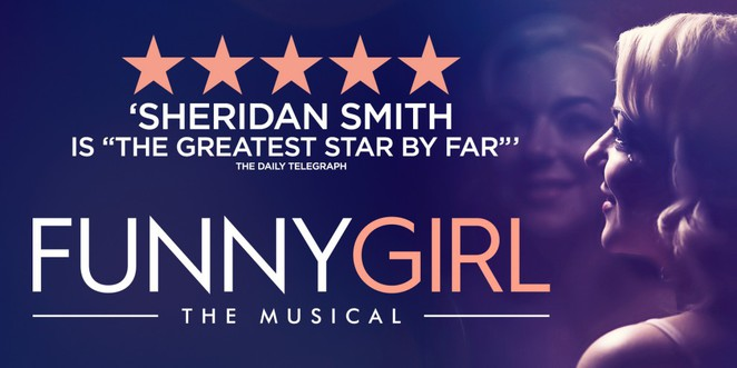 Funny Girl, Sheridan Smith, Birmingham Hippodrome, top 10 musicals coming to Birmingham 2017