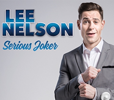 Lee Nelson, Old Rep Theatre, Birmingham comedy in 2017