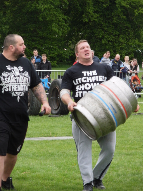 Lichfield Bower Festival, Beacon Park, Show of Strength