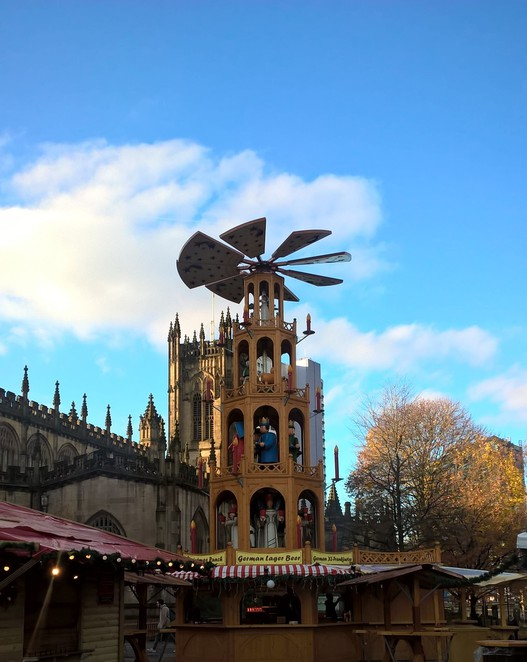 Manchester Christmas Markets, markets, stalls, Christmas, windmill, Festive events