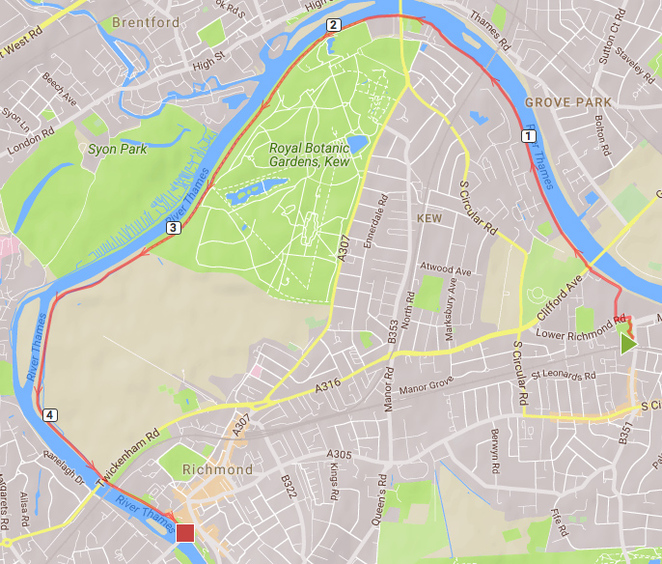 Mortlake to Richmond river walk
