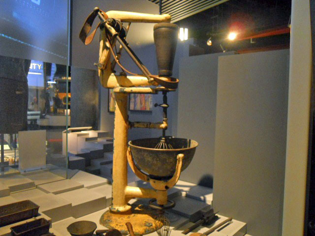 museum of london, world city, mixing bowl