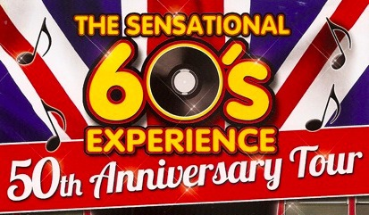 sensational 60s experience, 50th anniversary, new wimbledon theatre