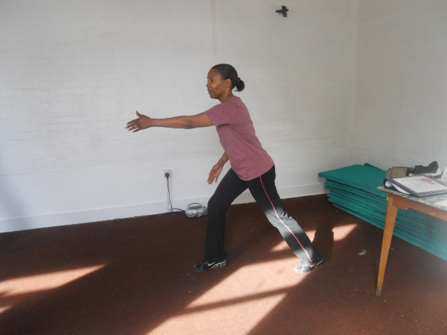 south Mitcham Community Centre, dance exercise, caroline