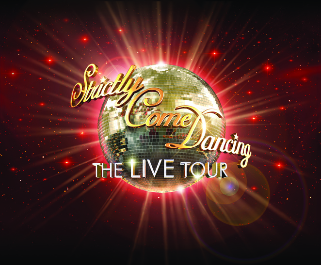 Strictly Come Dancing UK Tour, Rachel Stevens, Vincent Simone, Caroline Flack, Birmingham, Barclaycard Arena