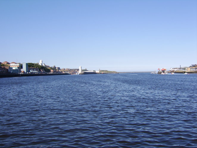The mouth of the tyne