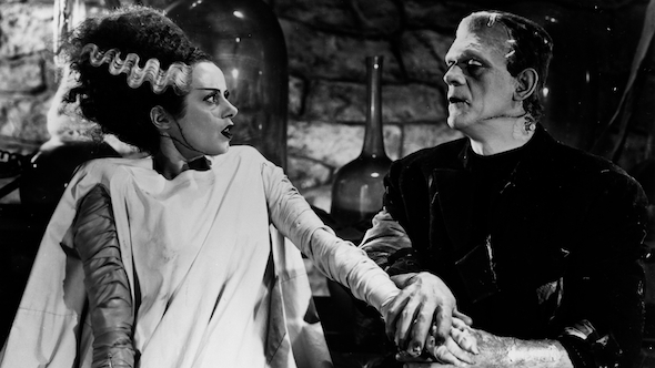 bride of frankenstein, bfi, reuben library, gothic