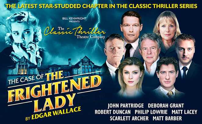 case of the frightened lady, glasgow theatre royal