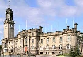 Facade at South Shields Town Hall