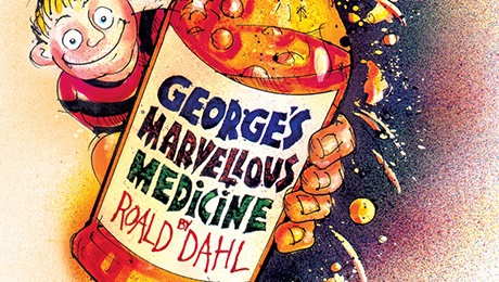 George's Marvellous medicine, Birmingham, New Alexandra Theatre, Birmingham Stage Company, children's shows
