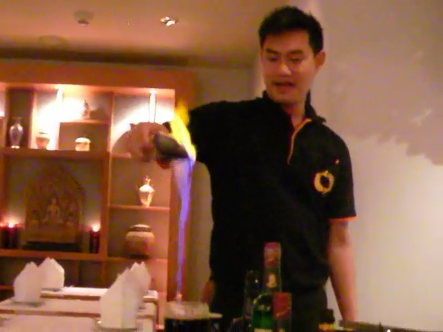 mae ping, mixing drinks, liqueur coffee