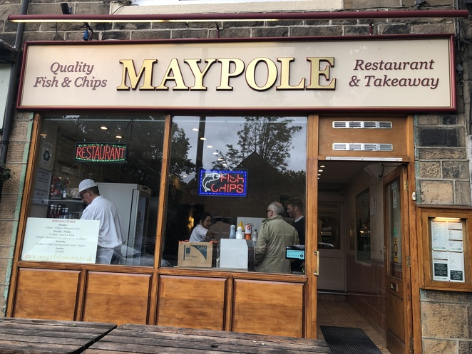 Mapole Fisheries, Mapole Fish & Chips, Best Fish & Chips in Otley, English Fish & Chips with Mushy Peas