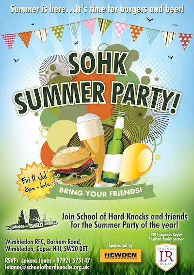 school of hard knocks, summer party