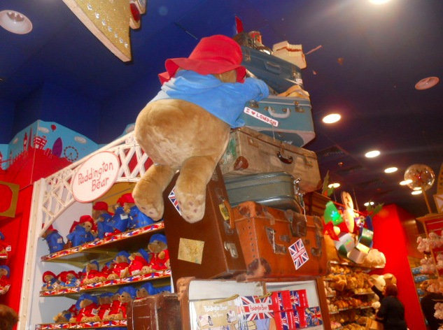 hamleys, paddington bear