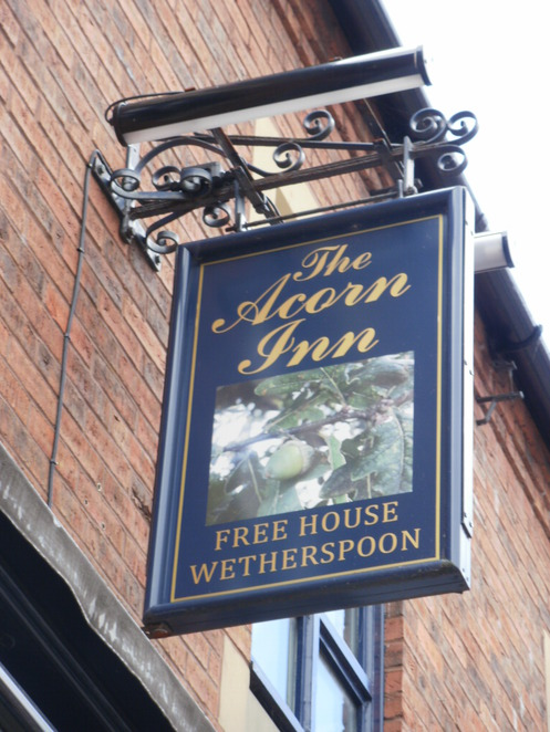 The Acorn Inn, Lichfield, JD Wetherspoon, pub