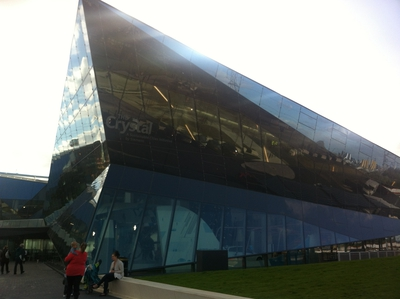 the crystal, royal victoria docks