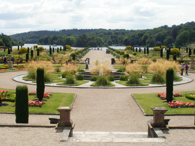 Trentham Gardens, Stoke-on-Trent, Capability Brown