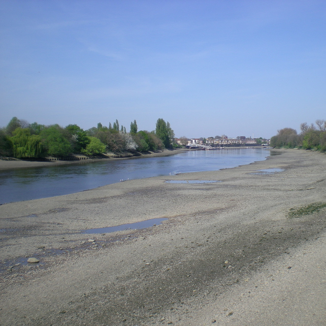 View along the river from Barnes