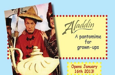 Aladdin A Pantomime for Grown Ups