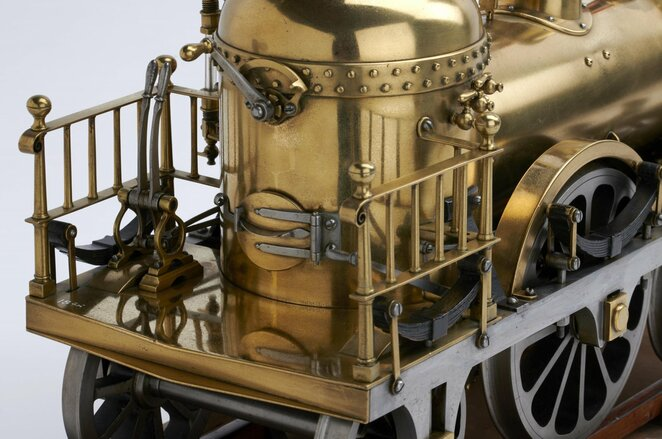 Brass, Steel and Fire at York's Railway Museum