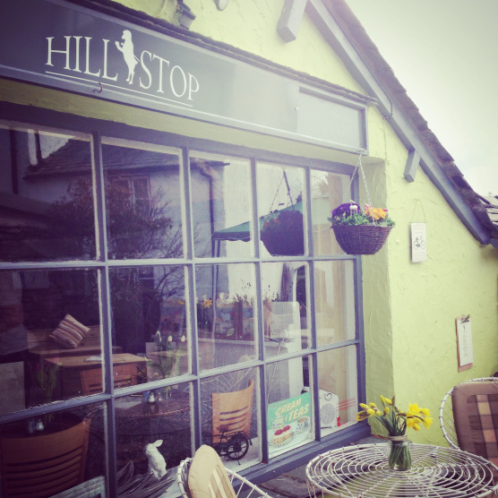 Cafe, teashop, Lake District, Hillstop