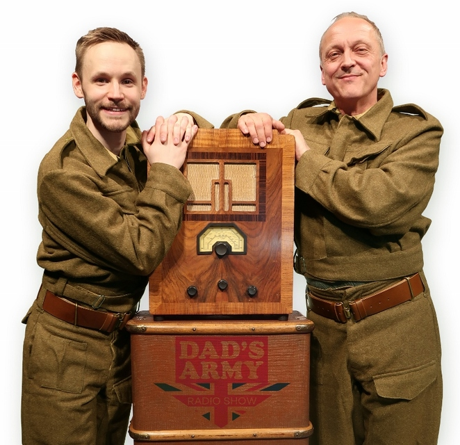 Dad's Army Radio Show, David Benson, Jack Lane