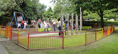 Pinner Memorial Park Children's Playground