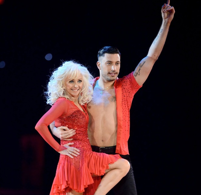 Strictly tour, review , Debbie McGee