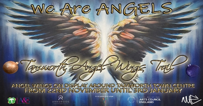 Tamworth Angel Wings Trail, We are Angels