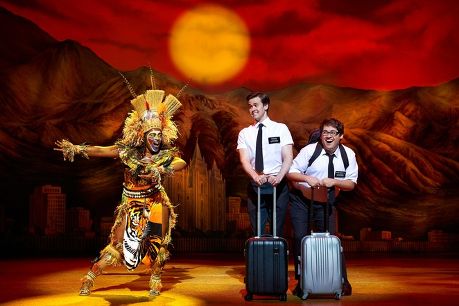 Book of Mormon, birmingham Hippodrome, UK tour