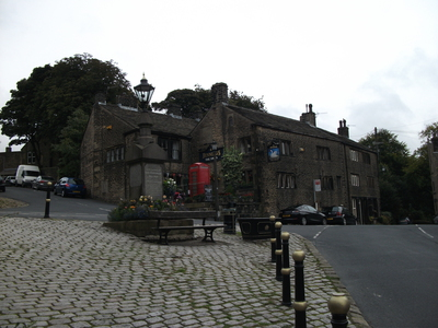 Dobcross Village Square