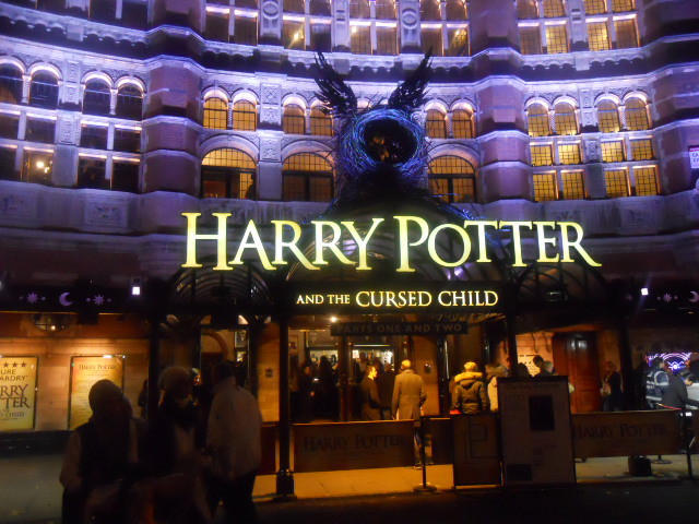 harry potter and the cursed child, palace theatre