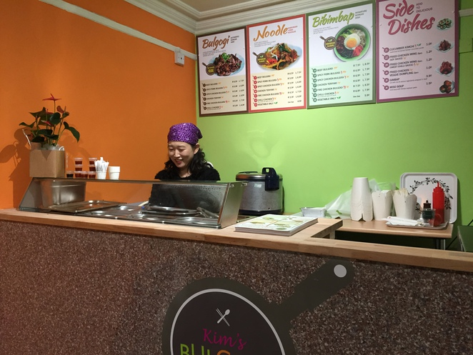 Kim's Bulgogi, Korean, Edinburgh, takeaway