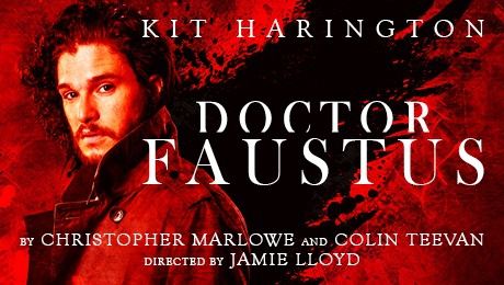 Kit Harington Game of Thrones Faustus London theatre