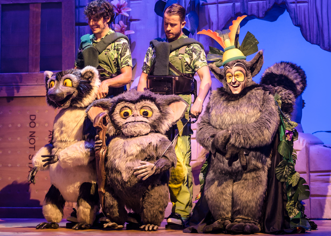 madagascar the musical, birmingham, review