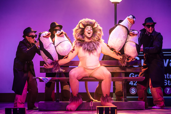 Madagascar The Musical theatre tour new Alexandra Theatre birmingham