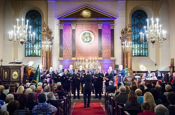 met police, choir concert