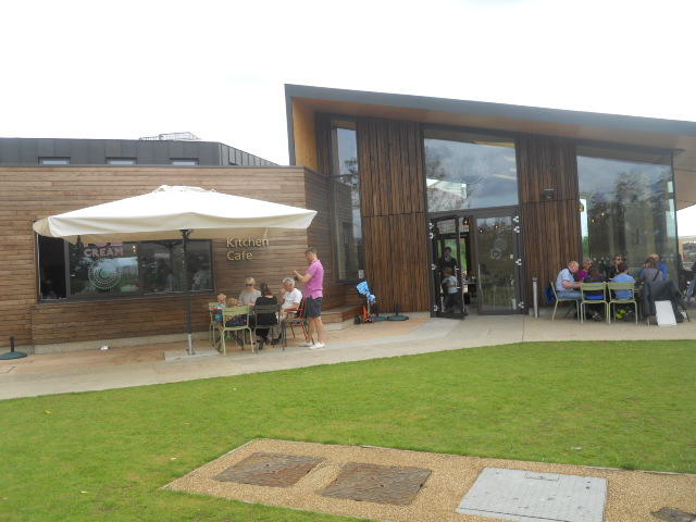 queen elizabeth olympic park, timber lodge, cafe