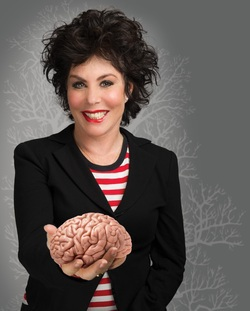 ruby wax, sane new world, brain